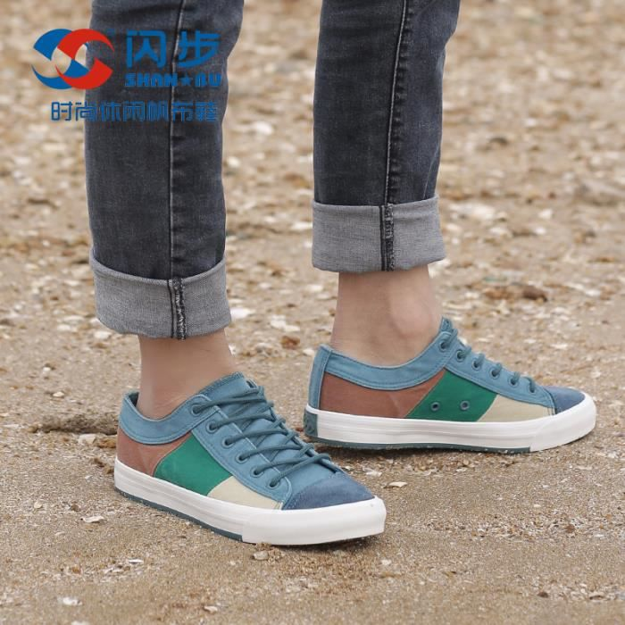 Baskets mode adulte Chaussures plates Espadrilles Baskets basses