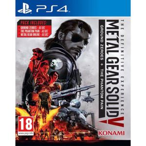 JEU PS4 Metal Gear Solid V The Definitive Experience Jeu P