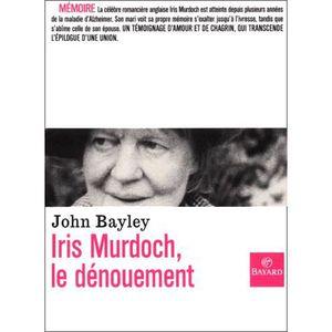 LIVRE SANTÉ FORME Iris Murdoch, le dénouement
