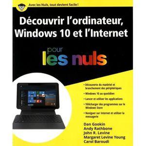 CLAVIER D'ORDINATEUR Premiers pas avec l'ordinateur, Windows 10 et inte