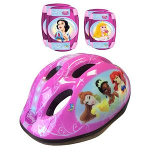 DISNEY PRINCESSES Protection Rollers Casque + Coudi?res/Genouill?res