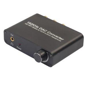 RÉGLAGE ANTENNE Décodeur audio numérique de convertisseur de 192kh