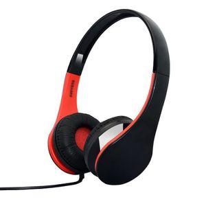 CASQUE - ÉCOUTEURS Écouteurs casque stéréo avec haut-parleur portable