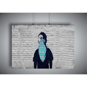 AFFICHE - POSTER Poster STREET ART BOY GRAFFITI Wall Art - A4 (21x2