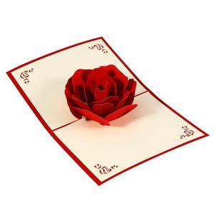 CARTE CORRESPONDANCE 15.5 x 12.5cm 3D Pop Up cartes de voeux avec envel
