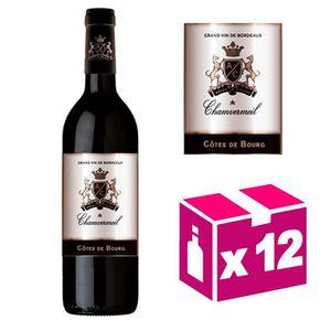 VIN ROUGE AOC Côtes de Bourg 2015 vin rouge – Carton de 12 b