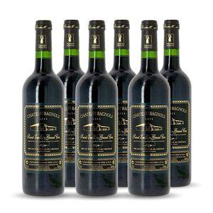 VIN ROUGE 6 bouteilles - Vin rouge - Tranquille - CHÂTEAU BA