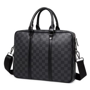 SACOCHE Sac Homme Porte Document Sac en Cuir Sac Messager