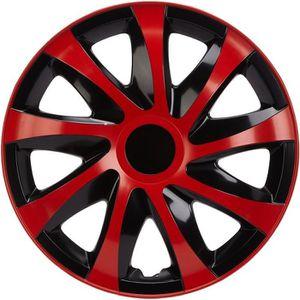 4pc Enjoliveurs de roues Giga Noir 15 pouces