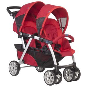 POUSSETTE  CHICCO Poussette Double Together Red
