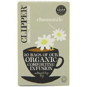 INFUSION Clipper Fairtrade Infusion Bio Camomille 250 Envel