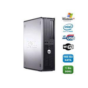 UNITÉ CENTRALE  PC DELL Optiplex 760 DT Intel Dual Core E5200 2,5G