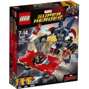 ASSEMBLAGE CONSTRUCTION LEGO® Marvel Super Heroes 76077 Iron-Man : l'Attaq