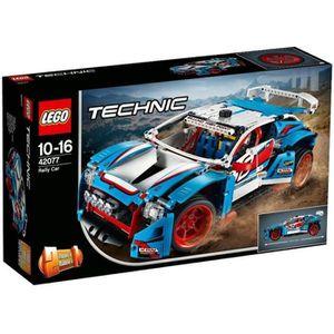 ASSEMBLAGE CONSTRUCTION LEGO® Technic 42077 La voiture de rallye