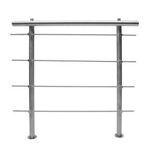 RAMPE - MAIN COURANTE Rampe escalier Acier inoxydable Accoudoir d'escali