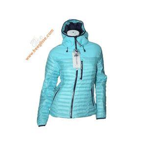 BLOUSON DE SKI Doudoune Ski Fille WATTS Nolla bleu
