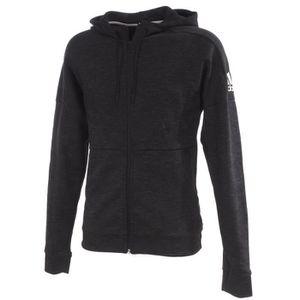 Vestes sweats zippés capuche Id stadium black fz cap Adidas