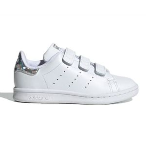 BASKET Baskets enfant adidas Stan smith CF C blanche