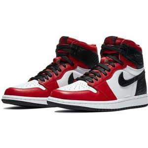 Basket jordan rouge
