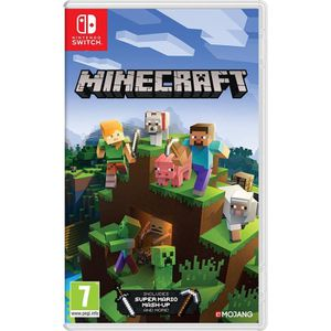 JEU NINTENDO SWITCH Minecraft Jeu switch + 1 Mochi Squishy offert
