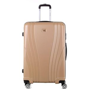 VALISE - BAGAGE TRAVEL WORLD Trolley Case XXL 80cm avec 4 roues Ch