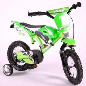 VÉLO ENFANT Vélo Enfants Motobike 12 Pouces avec Roues de Stab