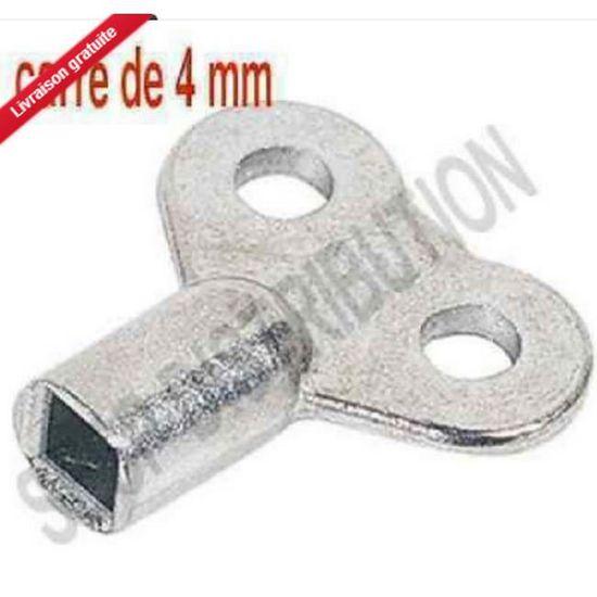Ensemble clé de purge radiateur 4 et 5 MM