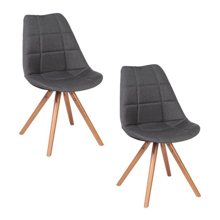 chaise scandinave pied hetre achat vente chaise scandinave pied hetre pas cher cdiscount. Black Bedroom Furniture Sets. Home Design Ideas