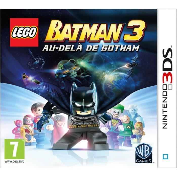 lego batman 3 au del de gotham jeu 3ds achat vente jeu 3ds lego batman 3 gotham 3ds cdiscount. Black Bedroom Furniture Sets. Home Design Ideas