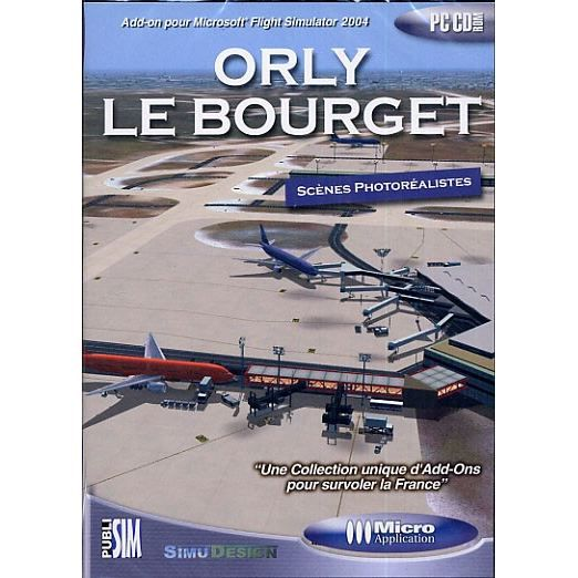 ORLY LE BOURGET / PC CD-ROM