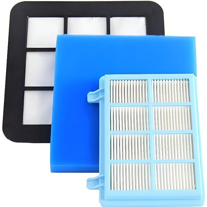 Kit de filtre de rechange pour l'aspirateur Philips FC9331 / 09 FC9332 / 09 FC8010 / 01 compact Power Pro