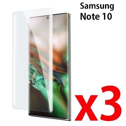 vitre protege ecran SAMSUNG NOTE 10