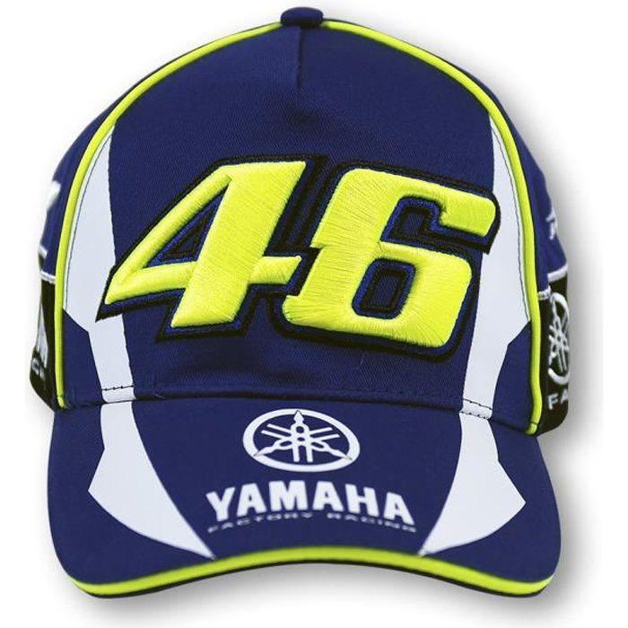 Baseball Casquette Hommes et Femmes - F1 moto gp équipe de course de moto yamaha - Bleu