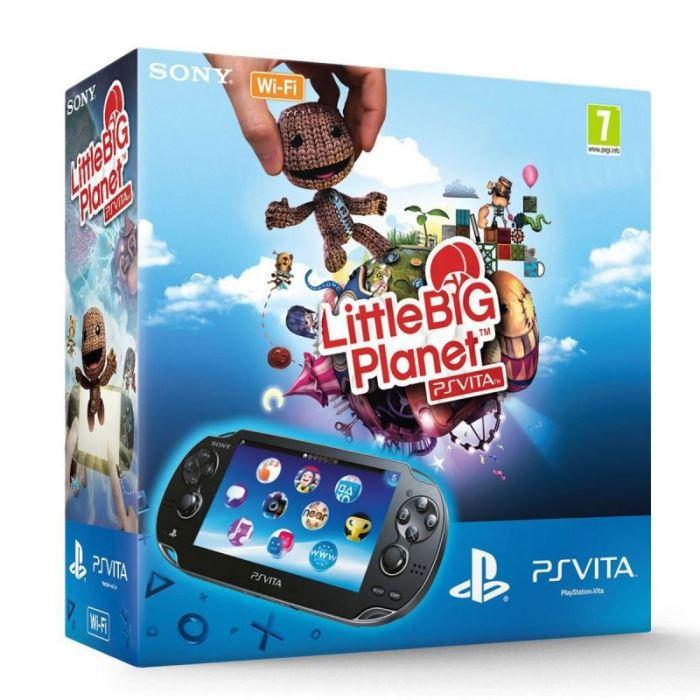 Sony PS Vita Wifi Noire + Little Big Planet - S…