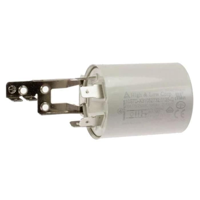 Condensateur anti-parasite pour Lave-linge CANDY, HOOVER