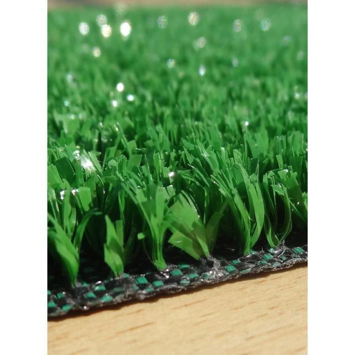 Tapis gazon synthetique FIELVER vert 200x500, par Dezenco, Tapis moderne 200 x 500 cm Vert