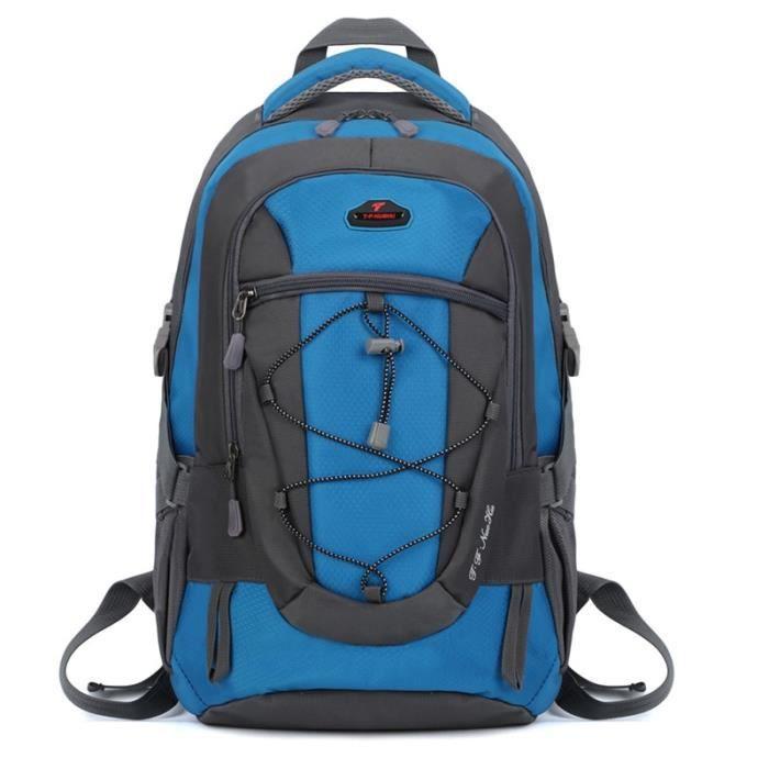 Bleu couleur 30 - 40L -Sac à dos étanche de 30l pour hommes et femmes, pour voyage, Camping en plein air, escalade, randonnée, Sport