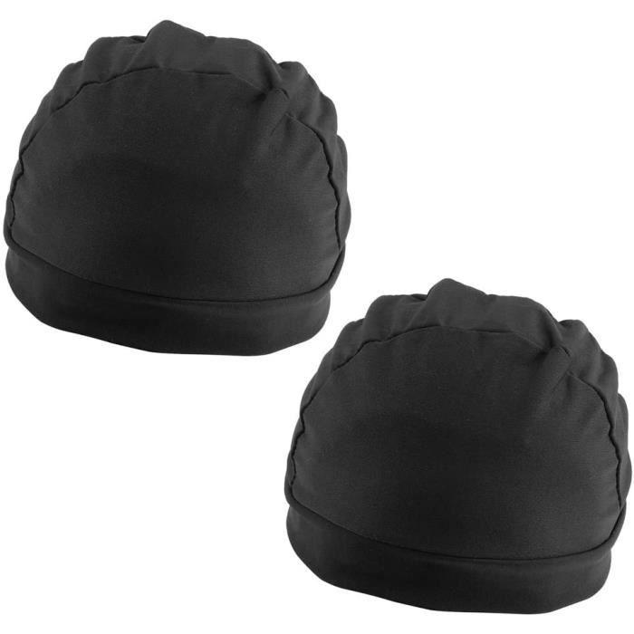 PERRUQUE Gazechimp 2pcs Bonnet Epais de Perruque en Spandex Wig Cap Dome Perruque Capuchon pour Extension Cheveux Filet Elastiqu688