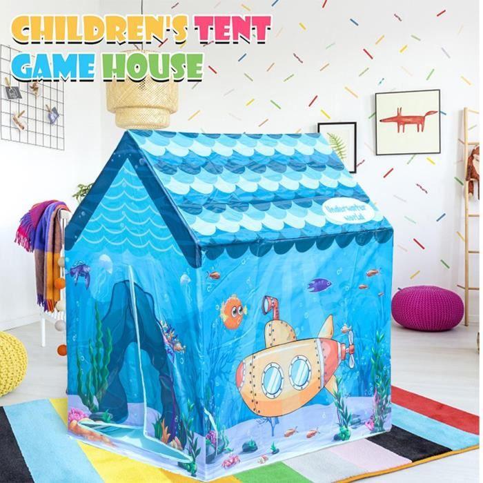 Tente de jeu pour enfants Underwater World House Tente de jeu pour enfants KOOK7051