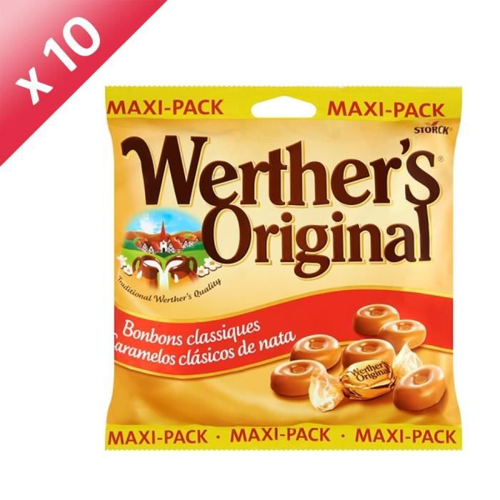 [LOT DE 10] WERTHER'S ORIGINAL 300G