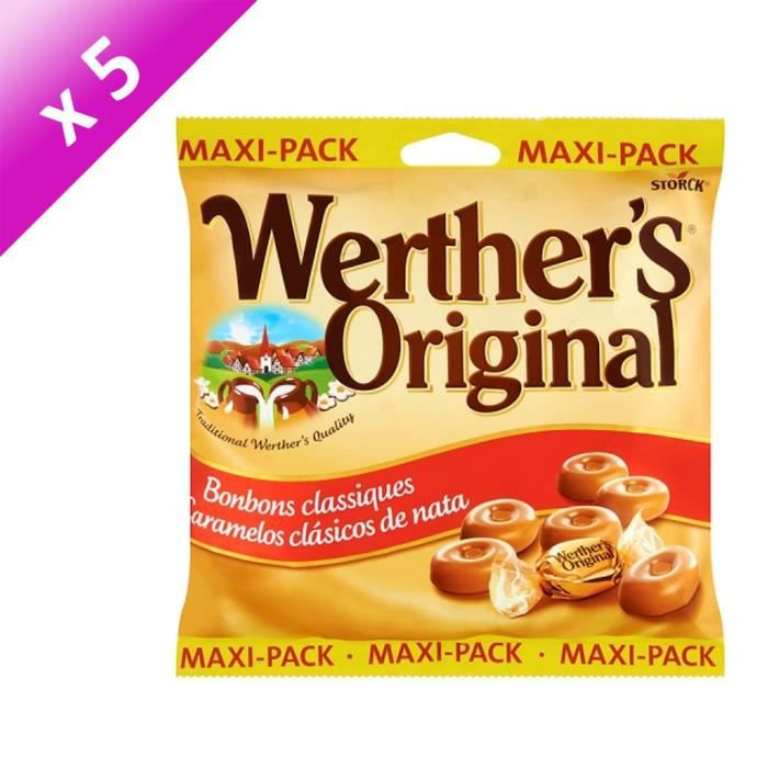 [LOT DE 5] WERTHER'S ORIGINAL 300G