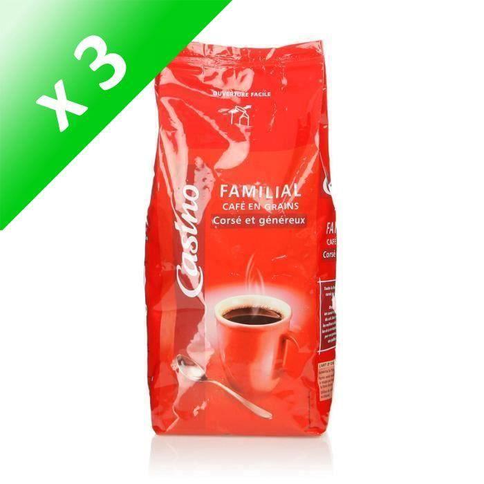 [LOT DE 3] Café en grain - Corsé et généreux - 1 kg
