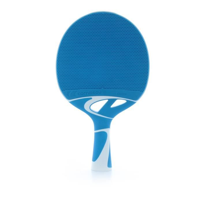 Cornilleau Tacteo 30 Raquette de tennis de table, bleu clair