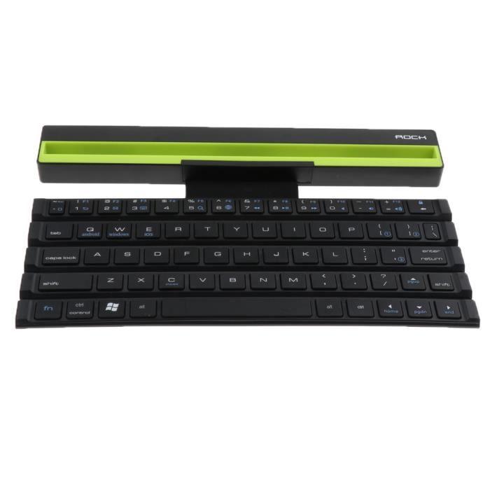 Clavier D'ordinateur Clavier Bluetooth pliable 1 pièce