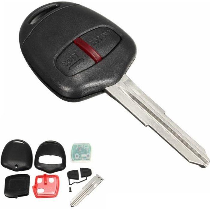 NEUFU Clé Remote Plip Télécommande 433MHz ID46 Pour Mitsubishi L200 Montero Pajero
