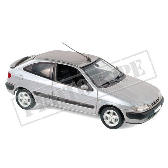 Miniatures montées - Citroen Xsara VTS argent 1997 1/43 Norev