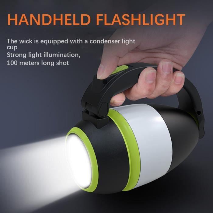 Lampe de camping LED multifonctionnelle