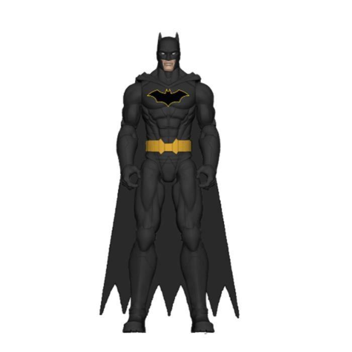 DC COMICS BATMAN - FIGURINE articulée BATMAN 30 CM - BATMAN BLACK DECO - 6060077 - Jeu Jouet Enfant