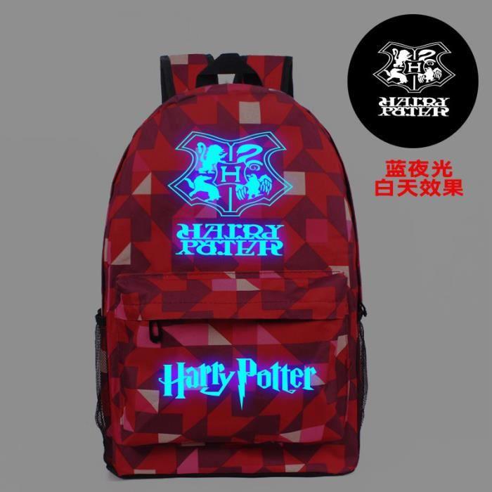 MOBIGARLAN Sac à Dos - Sac d'École cartable étudiant Harry Potter imprimé pour enfant adolescent modèle 22