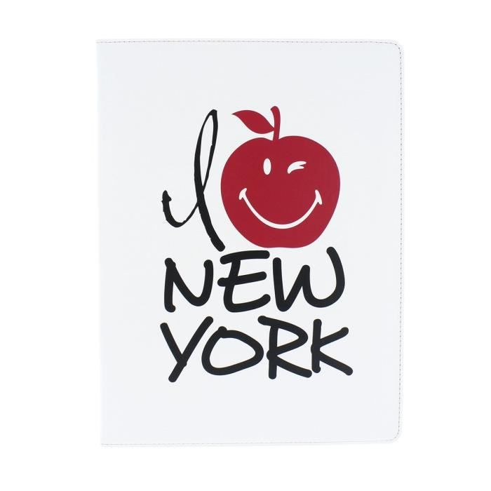 "Smiley - SW307077 - Folio 10' - Protection pour ordinateur style ""I Love New York"""